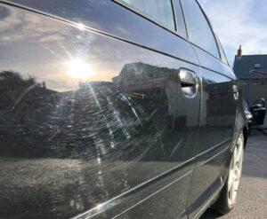 Micro rayure voiture